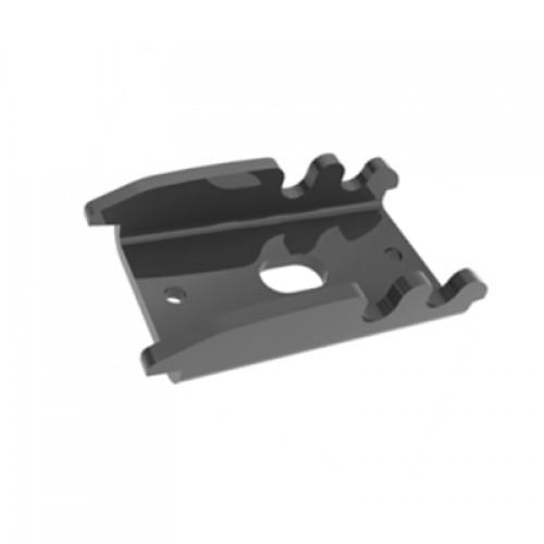 Fixátor Bekafix, příchytka pro vytvoření schodu ve svahu, černá, kov