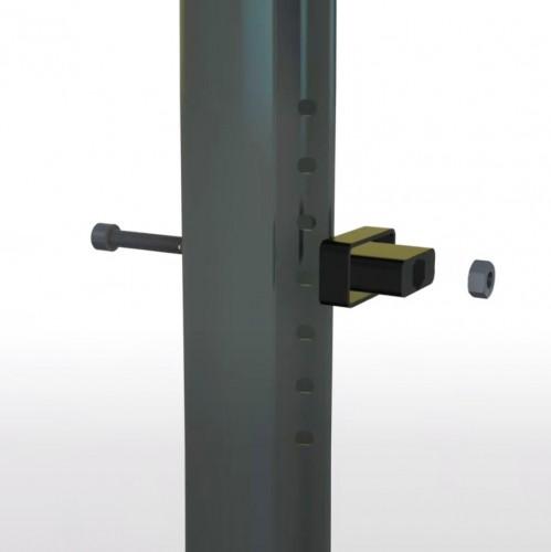 Fixační svorka pro panel CreaZen, plast, černá, 20 ks