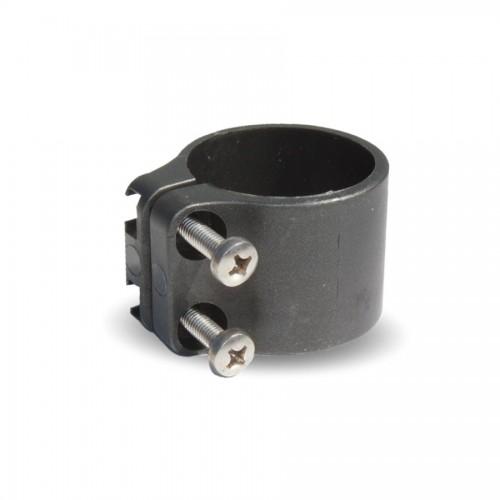 Objímka na sloupek Bekaclip, profil Ø 48 mm, antracitová, plast, 25 ks