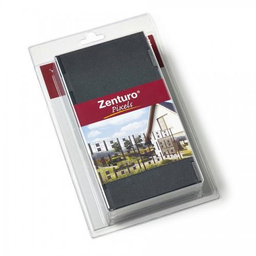 Pixely, 100 x 100 mm, výplň pro plotové dílce Zenturo, antracit, plast, 20 ks