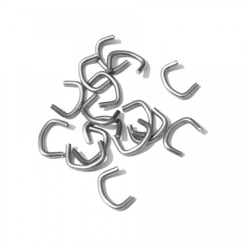 Nerezové spony Bekaclip, 250 ks