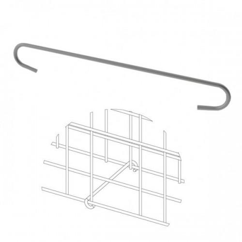 Distanční držák pro Zenturo gabion, fixátor, pozinkované