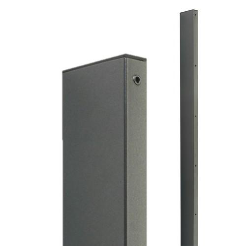Sloupek obdélníkový Zenturo gabion, výška 2700 mm, antracit, pozinkovaný, poplastovaný